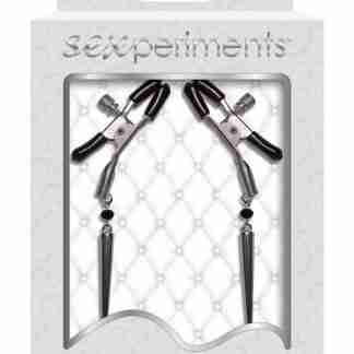 Sexperiments Silver Spears Nipple Clamps