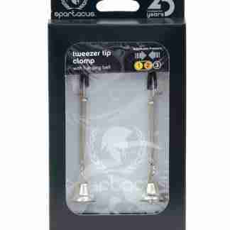 Spartacus Adjustable Tweezer Nipple Clamps w/Bells