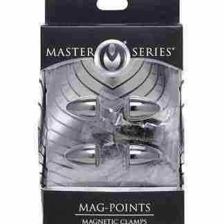 Master Series Mag Points Magnetic Nipple Clamps